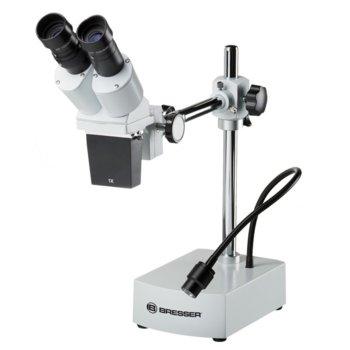 Бинокулярен микроскоп Bresser Science ETD-201, 10x увеличение, стереомикроскоп, светодиоднo осветление image
