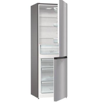 Хладилник с фризер Gorenje RK6191ES4, клас A+, 320 л. общ обем, свободностоящ, 284 kWh/годишно разход на енергия, FrostLess, инокс image