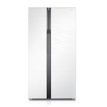 Хладилник с фризер Samsung RS552NRUA1J, клас A+, 538 л. общ обем, свободностоящ, 431 kWh/годишно, No Frost, Multi Flow, бял image