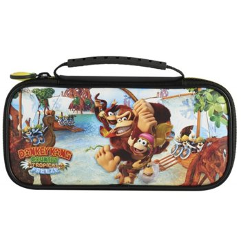 "Защитен калъф Nacon Travel Case ""Donkey Kong Country Tropical"", за Nintendo Switch image"