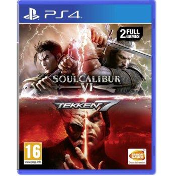 Игра за конзола Tekken 7 + SoulCalibur VI, за PS4 image