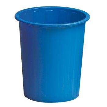 Кошче за отпадъци, плътно, 14L, синьо image
