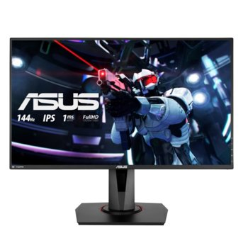 "Монитор Asus VG279Q, 27"" (68.58 cm) IPS панел, 144Hz, Full HD, 1 ms, 100000000:1, 400cd/m2, DisplayPort, HDMI, DVI image"