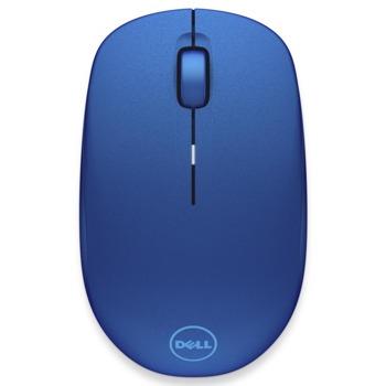 Мишка Dell WM126, безжична, оптична (1000 dpi), синя, USB image
