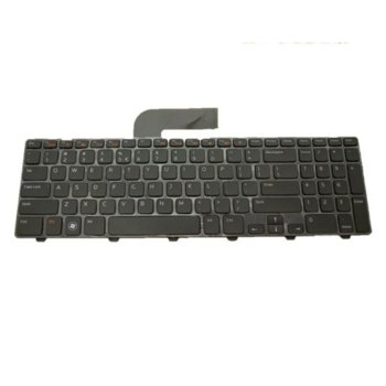 Клавиатура за лаптоп Dell, съвместима със серия Inspiron N5110 M5110 XPS L702X, US/UK image