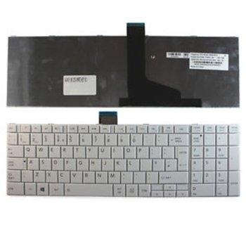 Клавиатура за Toshiba Satellite C850 C855 C850D L850 L850D, UK, кирилица image