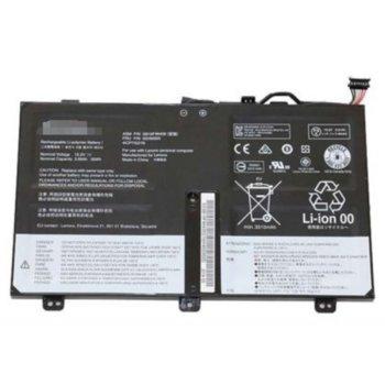 Батерия (оригинална) за лаптоп Lenovo, съвместима с ThinkPad Yoga 14 series/ ThinkPad S3 Touch series/ThinkPad S3 Yoga series/ ThinkPad S5 series, 4-cell, 14.8V, 3700mAh image