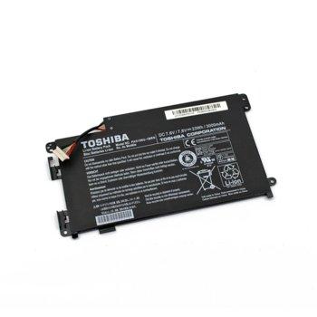 Батерия (oригинална) за лаптоп Toshiba, съвместима със серия Satellite Click W35DT 7.6V 3000mAh 23Wh, 2-Cells, 7.6V, 3000mAh image
