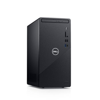Настолен компютър Dell Inspiron 3881 MT (5397184443903), осемядрен Comet Lake Intel Core i7-10700 2.9/4.8 GHz, GeForce GTX 1650 4GB, 8GB DDR4, 512GB SSD, 1x USB 3.2 Type C, клавиатура и мишка, Linux image