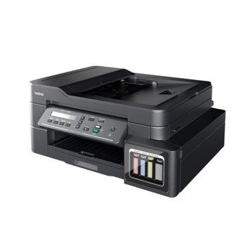 Мултифункционално мастиленоструйно устройство DCP-T710W, цветен, принтер/копир/скенер, 6000 x 1200dpi, 27 стр/мин, Wi-Fi, USB, A4 image