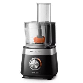 Кухненски робот Philips HR7530, 850W, 2 скорости, 2.1 л. капацитет, система за съхранение на кабела, Технология PowerChop, 31 функции, черен image