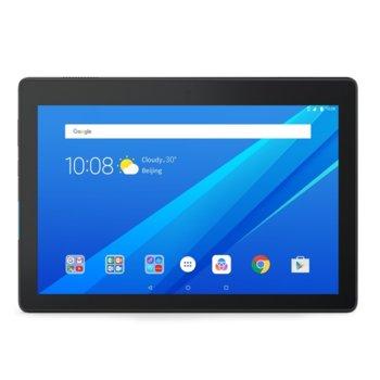 "Таблет Lenovo Tab Е10 WiFi GPS BT4.0, Qualcomm 1.3GHz QuadCore S212, 10.1"" IPS 1280x800, 2GB LPDDR3, 16GB flash, 5MP cam + 2MP front, MicroSD up to 128GB, MicroUSB, Dobly Atmos, Android 8 Oreo, Black image"
