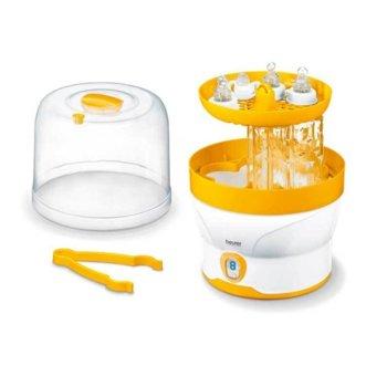 Стерилизатор за бебешки бутилки Beurer, LED дисплей, до 6 шишета, цикъл на стерилизация - 7 мин., авт.изключване, съдържанието остава стерилно до 3 часа image