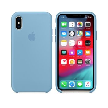 Apple iPhone XS Silicone Case - Cornflower product