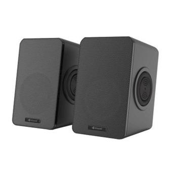 Мини Аудио Система Kisonli T-013 - 4bass, 2.0, 2x3W, 3.5mm стерео, черен image