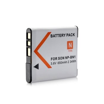 Батерия Sony NP-BN1, 3.7V, 630mAh image