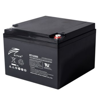 Акумулаторна батерия Ritar Power RT12260, 12V, 26Ah, AGM image