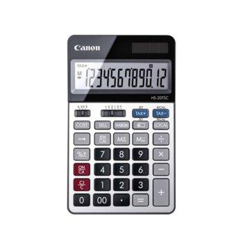 Калкулатор Canon HS-20TSC-BL, функция за данъчни изчисления, сив image