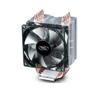 Охлаждане за процесор DeepCool GAMMAXX C40, съвместимост със сокети LGA 2066/2011-v3/2011/1151/1150/1155/1156/1366 & AMD AM4/AM3(+)/AM2(+)/FM2(+)/FM1. image