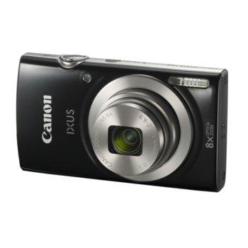 "Фотоапарат Canon IXUS 185(черен), 8x оптично увеличение, 20 Mpix, 2.7"" (6.8 cm) LCD дисплей, USB mini(TypeB), SDXC слот image"