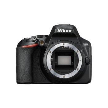 """Фотоапарат Nikon D3500 в комплект обектив Nikon 18-140mm VR, 24.2 Mpix, 3.0"""" (7.62 cm) TFT дисплей, SDXC/HC, HDMI, USB, Bluetooth image"""
