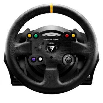Волан Thrustmaster TX Leather Edition , включва педали, за Xbox One, PC image