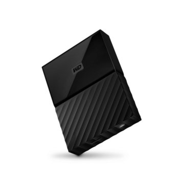 "Твърд диск 2TB Western Digital MyPassport (THIN) (черен), 2.5"" (6.35 cm), USB 3.0 image"