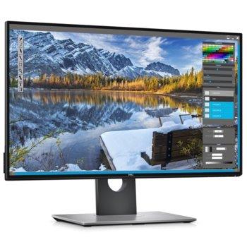 """Монитор Dell U2518D, 25"""" (63.50 cm) IPS панел, WQHD, 5ms, 350 cd/m2, DisplayPort, HDMI, USB image"""