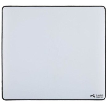 Подложка за мишка Glorious L, гейминг, бял, 330 x 280 x 2 mm image