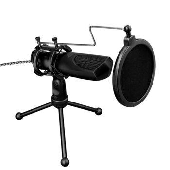 Микрофон TRUST GXT 232 Mantis, USB, черен  image