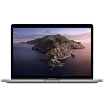 "Лаптоп Apple MacBook Pro 13 Touch Bar (2020) (MWP42ZE/A)(сив), четириядрен Intel Core i5 2.0/3.8GHz, 13.3"" (33.78) cm IPS Retina дисплей, (Thunderbolt), 16GB DDR4, 512GB SSD, 4x Thunderbolt 3, macOS Catalina image"