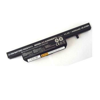 Батерия (заместител) за CLEVO C4500, съвместима с W251EG/GIGABYTE Q1732N, 6cell, 11.1V, 4400 mAh image