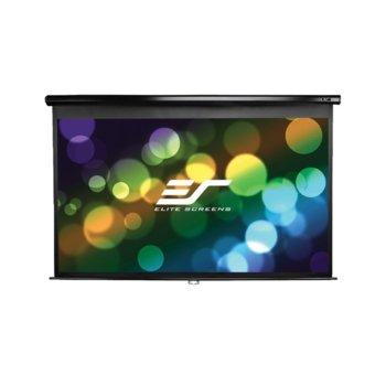 """Екран Elite Screens, 128"""" (325.12 cm), за стена/таван, 2 г. гаранция image"""