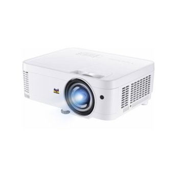 Проектор ViewSonic PS600W, DLP, WXGA (1280x800), 22 000:1, 3500 lm, 2x HDMI, 2x VGA, 1x USB A, RJ-45, RS232 image
