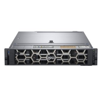 Сървър Dell PowerEdge R540 (PER540CEE01), осемядрен Skylake Intel Xeon Bronze 3106 1.7 GHz, 8GB DDR4 RDIMM, 240GB SSD, 2x 1GbE LOM, 2x USB 3.0, без ОС, 1x 750W image