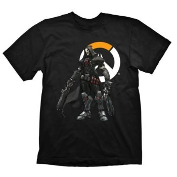 Тениска Gaya Entertainment Overwatch Reaper logo, размер M, черна image