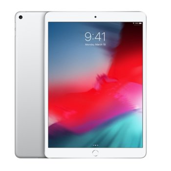"Таблет Apple iPad Air 3 MUUR2HC/A (сребрист), 10.5""(26.67 см) IPS LCD Display, шестядрен Vortex 2.5GHz, 3GB RAM, 256GB Flash памет, 8 & 7 Mpix camera, iOS, 456g image"