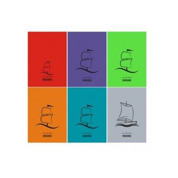 Тетрадка Seren Fluоr, формат А5, офсет, редове, 100 листа image