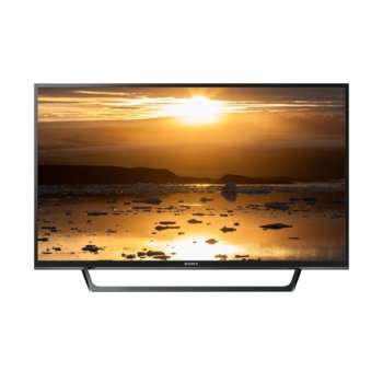 "Телевизор Sony KDL-40WЕ665, 40"" (101.60 cm) Full HD Edge LED Smart TV, DVB-T/T2/S2, Wi-Fi, LAN, 2x HDMI, 2x USB  image"