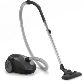 Прахосмукачка Philips PowerGo FC8244/09, с торба, 750 W, 3 л, филтър против алергии, сива image