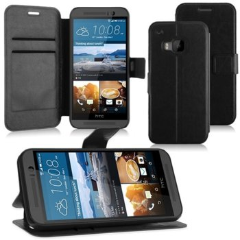 Wallet Flip Case for HTC One 3 M9 black product