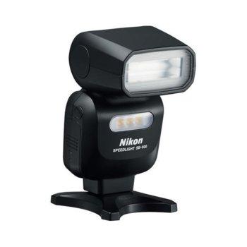 Сверткавица Nikon SB-500 в комплект със зарядно GP с батерии, LED 100lx лампа, 2x AA LR6 батерии image