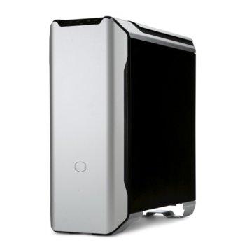 Кутия Cooler Master MasterCase SL600M, ATX/Micro ATX/Mini ITX, 1x USB Type-C, 2x USB 3.0, прозорец, сива, без захранване image