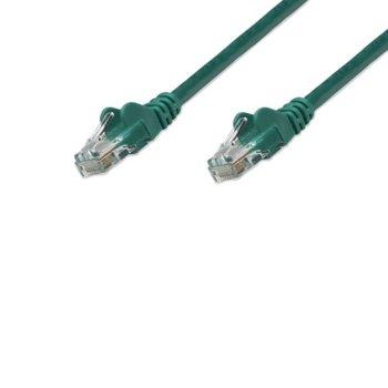 Пач кабел Intellinet, cat.5E, 1м, UTP, зелен image