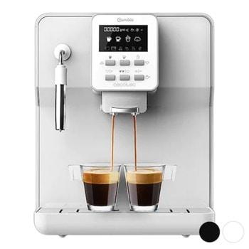 Кафеавтомат Cecotec Power Matic-ccino 6000 Bianca, 1350W, 19 bar, капацитет на резервоара за вода 1.7л., LCD дисплей, AlwaysClean система, Thermoblock, бяла image