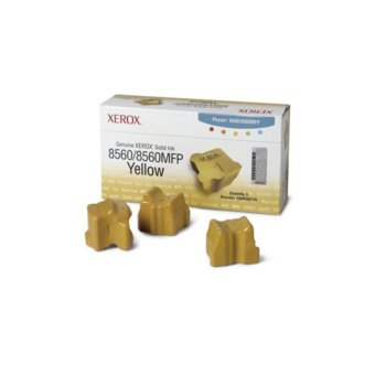 МАСТИЛО ЗА XEROX ColorStix ЗА PHASER 8560 - ink 3 Yellow Sticks - P№ 108R00766 - заб.: 3000k image
