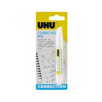 Коректор химикалка Uhu, 8ml, бял image