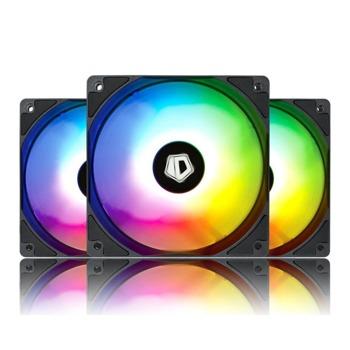 Вентилатори 120mm, ID-Cooling XF-12025, 4-pin, aRGB, 1500 rpm, 3 бр. image