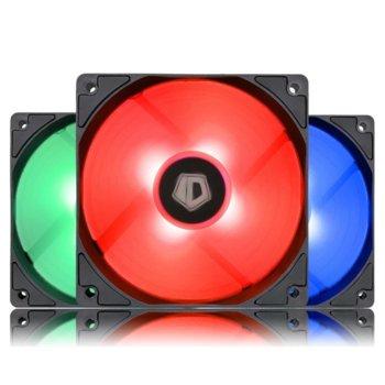 3бр. RGB охладител ID-Cooling XF-12025-RGB-3 product