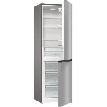 Хладилник с фризер Gorenje RK6192ES4, клас F, 320 л. общ обем, свободностоящ, 222 kWh/годишно разход на енергия, FrostLess, инокс image